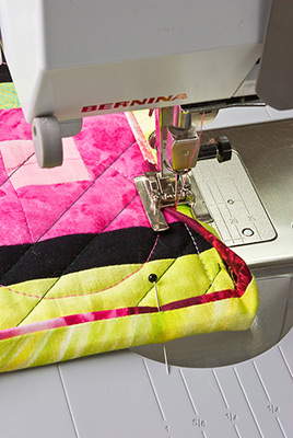 Sewing binding image by Melody Crust