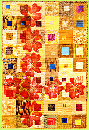 Quilt IMPERIAL FLOWERS by Melody Crust