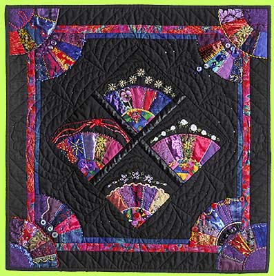 Art Quilt NEW YEARS EVE by Meldoy Crust