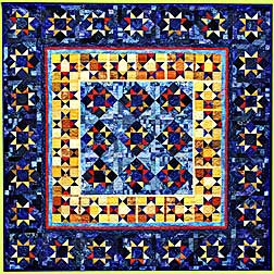 Quilt STAR BRIGHT by Melody Crust